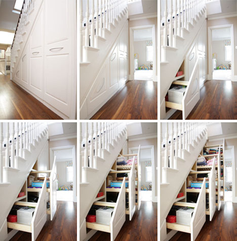 Jak wykorzystać wnękę pod schodami?