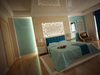 Idealne światło w sypialni