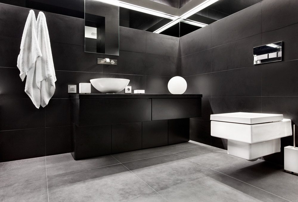 Czarny charakter w domu, czyli rzecz o czarnych ścianach