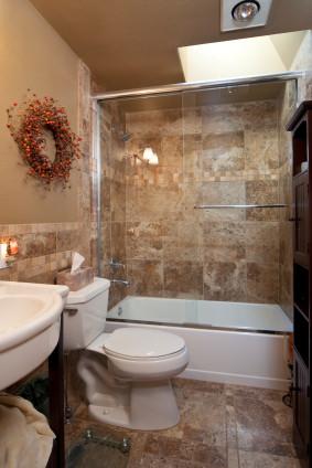 Niepowtarzalna estetyka łazienki w kamieniu