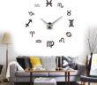 Zegar złożony z symboli znaków zodiaku