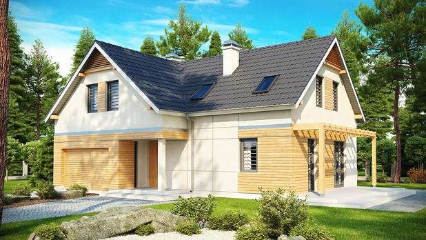 Projekt domu Z125