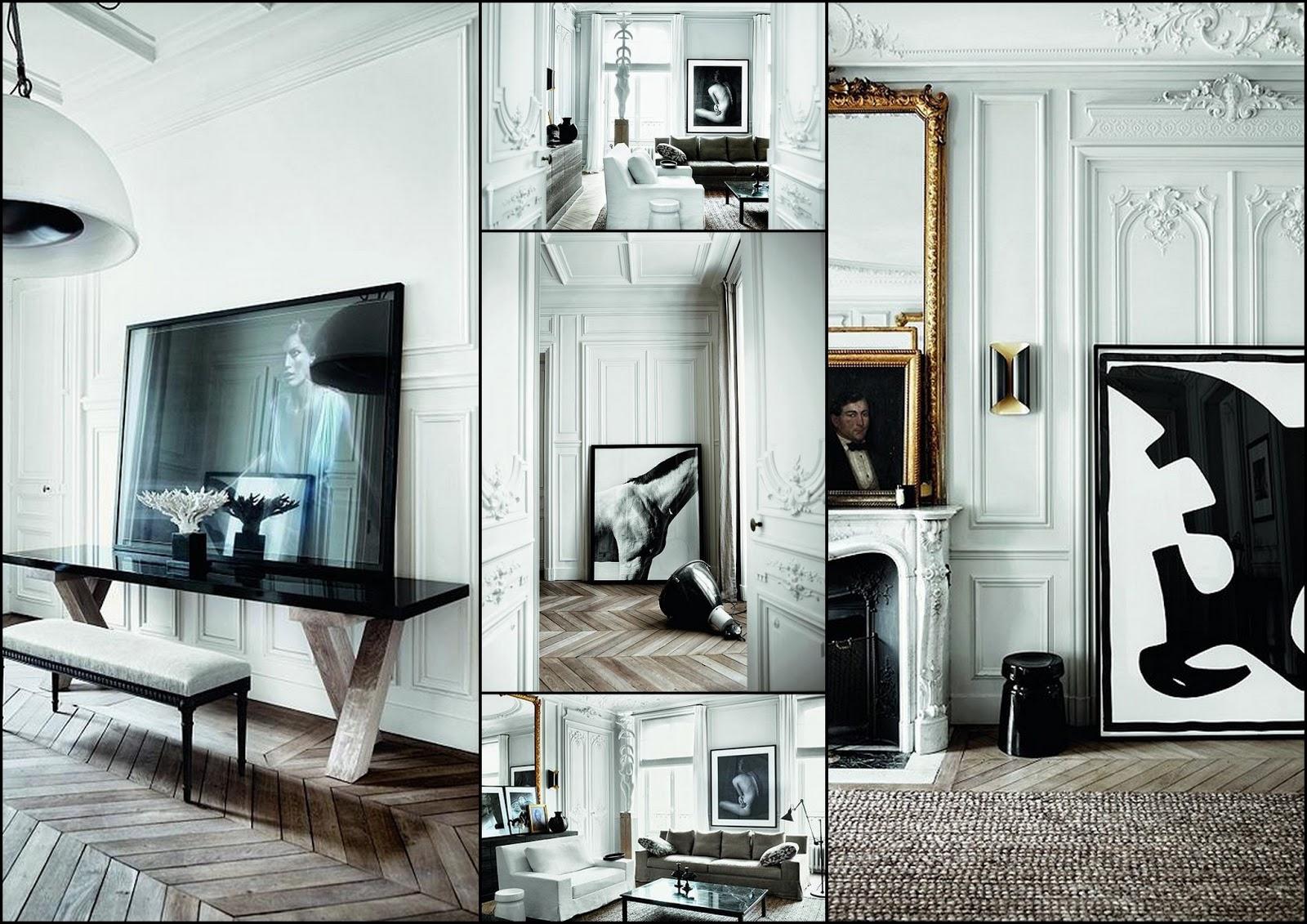 Panele ścienne w nowoczesnym mieszkaniu