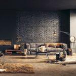 Aranżacja wnętrza z ciemną podłogą – dobieramy kolory ścian i mebli
