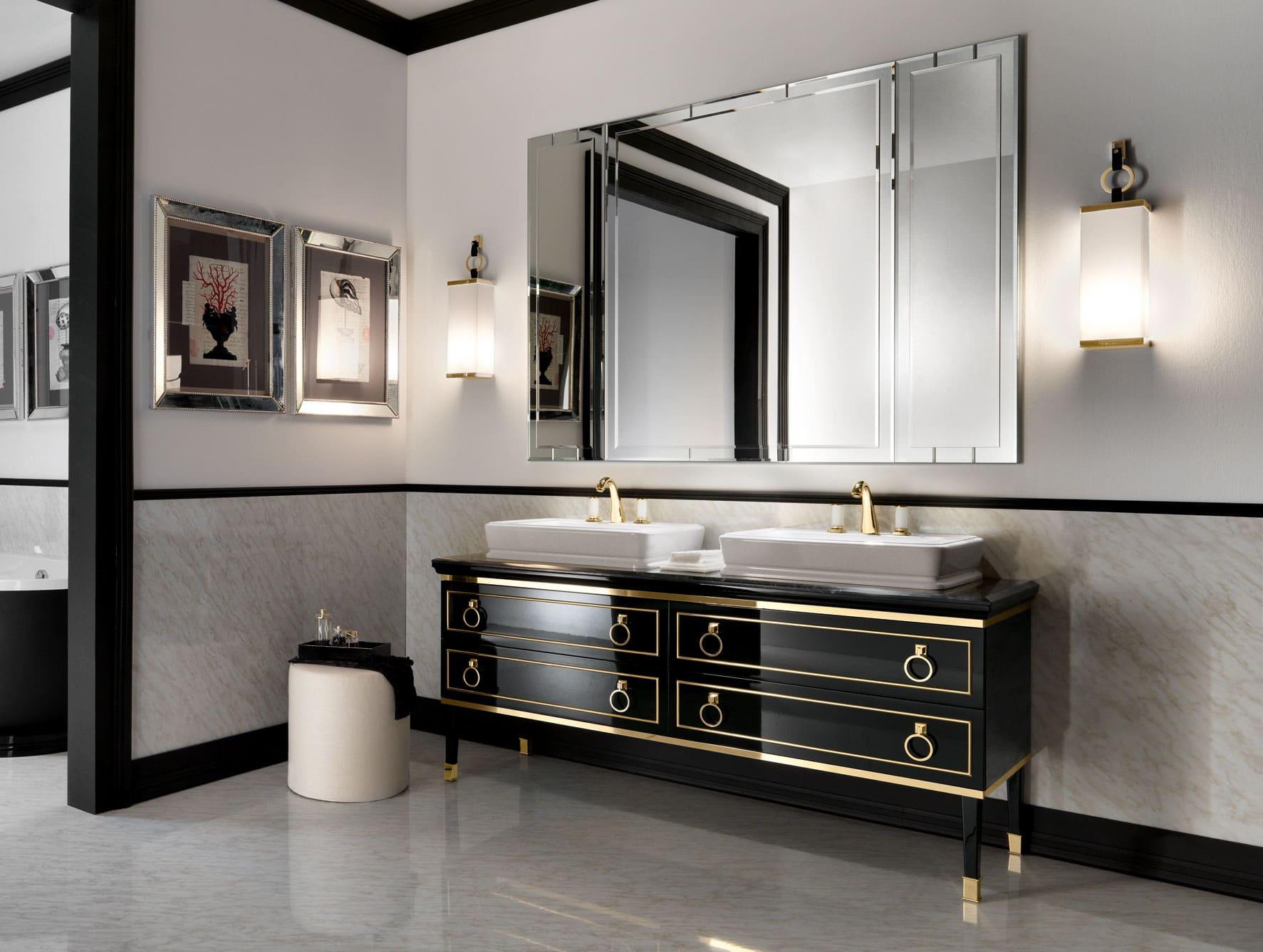 Elegancka toaletka w łazience
