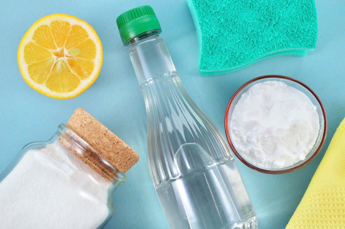 Ocet, cytryna i soda