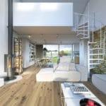 TOP10 projektów domów z aranżacjami wnętrz