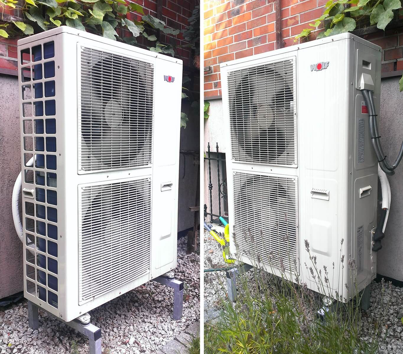 Instalacja powietrznej pompy ciepła