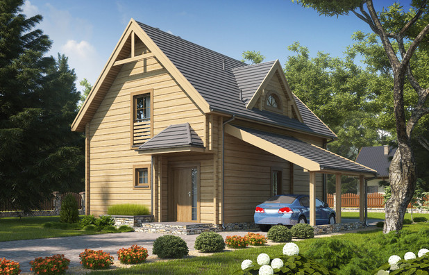 Projekt domu D134 Tooba.pl