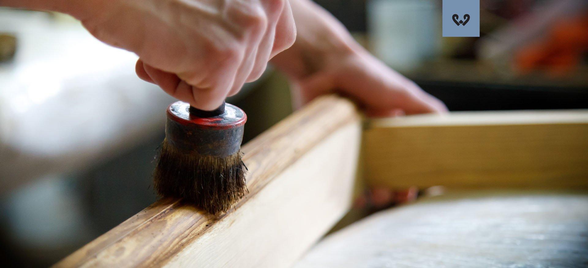 Woskowanie mebli drewnianych