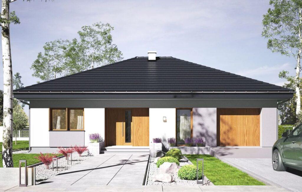 Projektu domu Opal ma prawie 100 m2