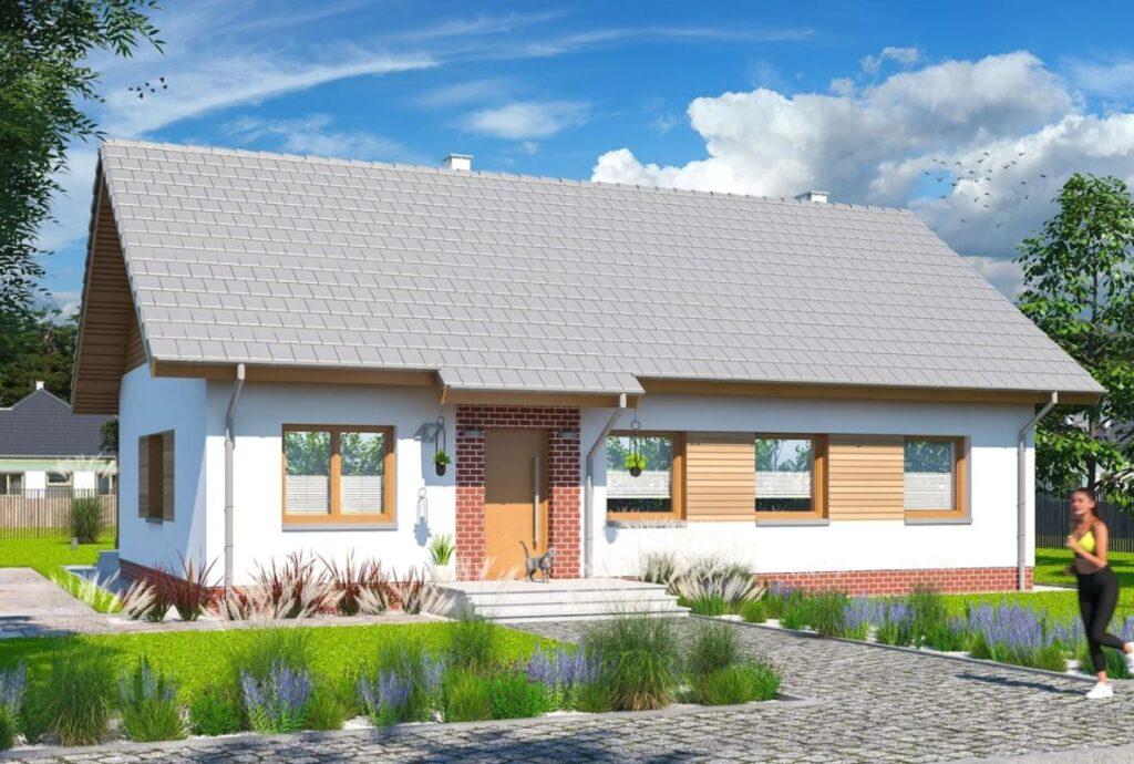 Projekt domu Tamina 4