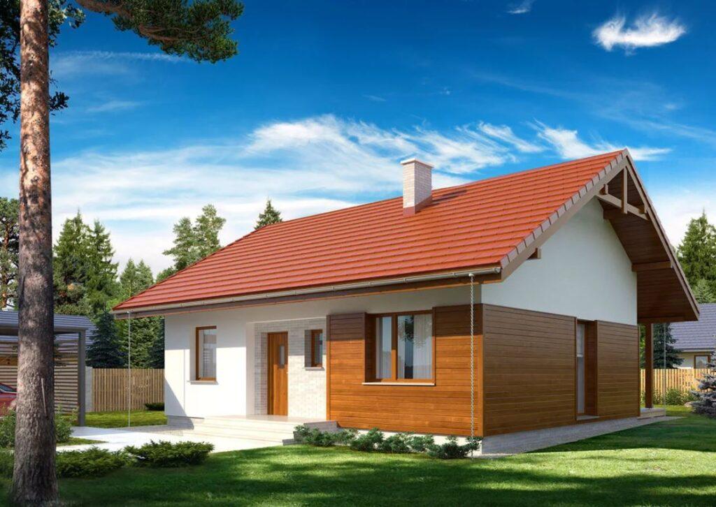 Projekt domu Gaja